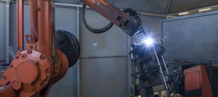 Ilcap Robot Saldatura Automatica Sedia Metallo
