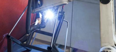 Ilcap Robot Saldatura Struttura Metallo